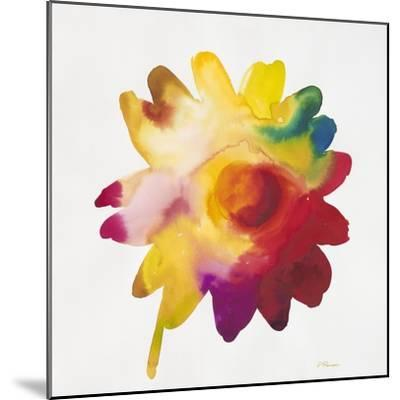 Rainbow Daisy 1-Paulo Romero-Mounted Art Print