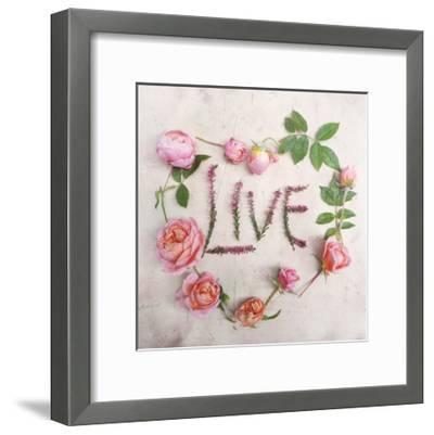 Flower For Live-Heather Johnston-Framed Art Print