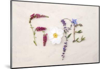 Flower For Hope-Heather Johnston-Mounted Art Print