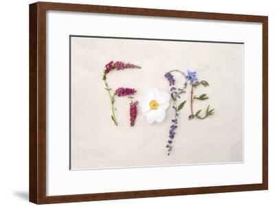 Flower For Hope-Heather Johnston-Framed Art Print