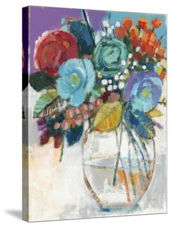 Vivid Banquet 2-Norman Wyatt Jr^-Stretched Canvas Print