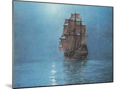 Crescent Moon-Montague Dawson-Mounted Premium Giclee Print