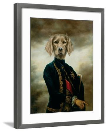 The Marquis-Thierry Poncelet-Framed Premium Giclee Print