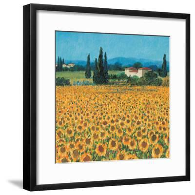 Farm Near Siena-Hazel Barker-Framed Premium Giclee Print