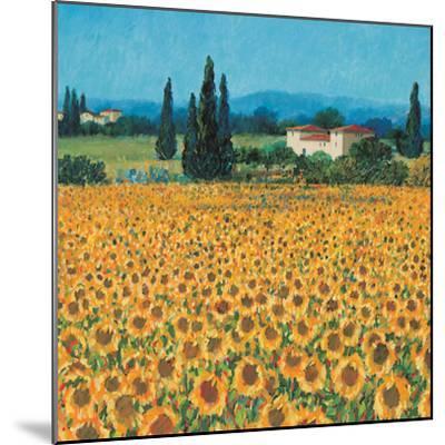 Farm Near Siena-Hazel Barker-Mounted Premium Giclee Print