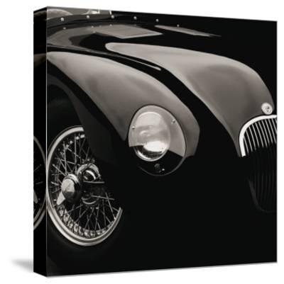 Jaguar C-Type-Retro Classics-Stretched Canvas Print
