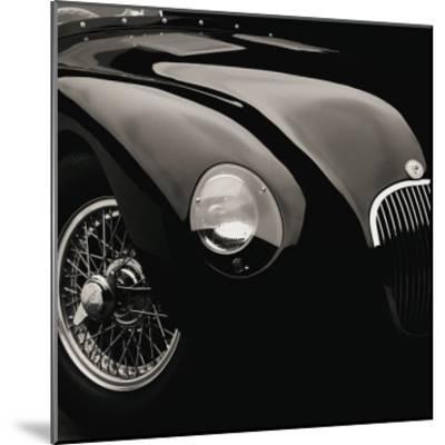 Jaguar C-Type-Retro Classics-Mounted Premium Giclee Print