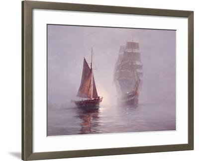 Night Mists-Montague Dawson-Framed Premium Giclee Print