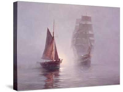 Night Mists-Montague Dawson-Stretched Canvas Print