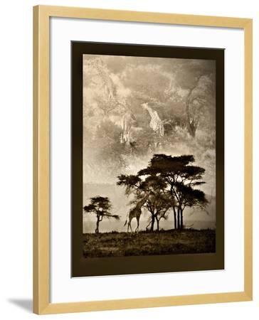 Tanzanian Landscape-Bobbie Goodrich-Framed Premium Giclee Print