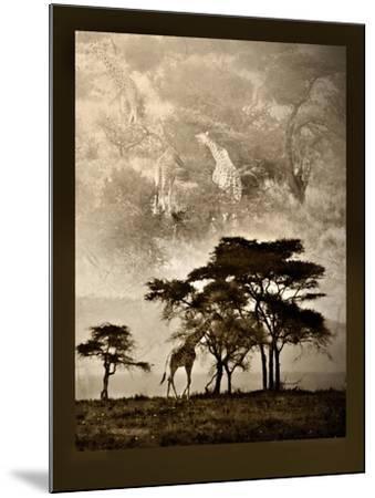 Tanzanian Landscape-Bobbie Goodrich-Mounted Premium Giclee Print