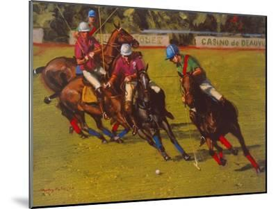 Polo At Deauville-Henry Koehler-Mounted Art Print