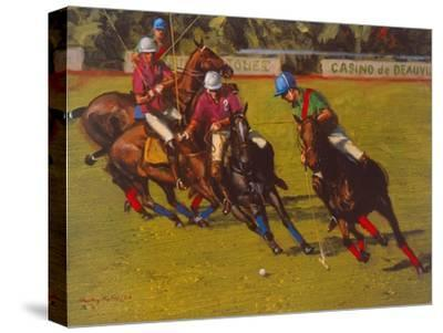 Polo At Deauville-Henry Koehler-Stretched Canvas Print