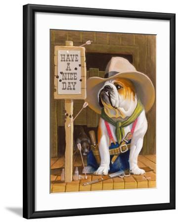 Have A Nice Day-Bryan Moon-Framed Premium Giclee Print