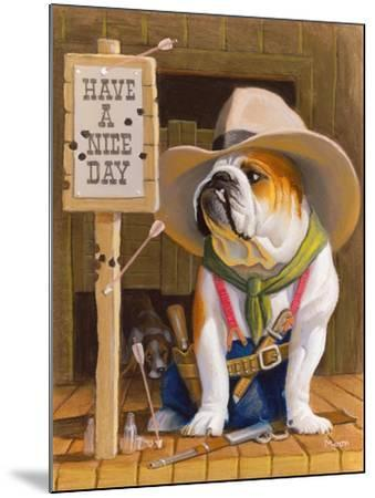Have A Nice Day-Bryan Moon-Mounted Premium Giclee Print