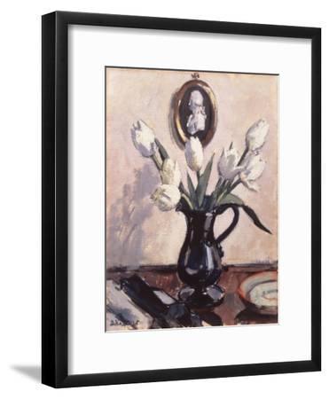 Tulips-Francis Cadell-Framed Art Print