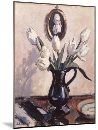 Tulips-Francis Cadell-Mounted Art Print