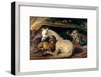 The Arab Tent, 1866-Edwin Henry Landseer-Framed Art Print