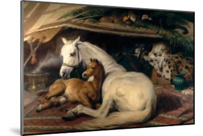 The Arab Tent, 1866-Edwin Henry Landseer-Mounted Art Print