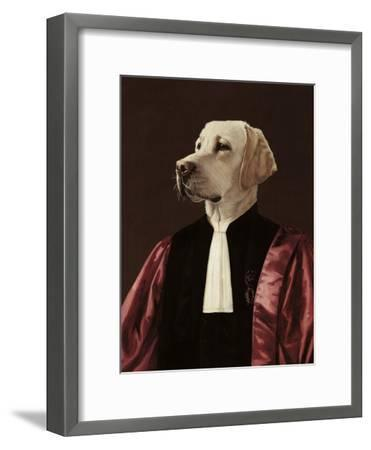 The Advocate-Thierry Poncelet-Framed Premium Giclee Print