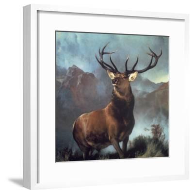 Monarch of the Glen-Edwin Henry Landseer-Framed Premium Giclee Print
