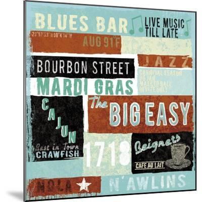 New Orleans-Tom Frazier-Mounted Premium Giclee Print