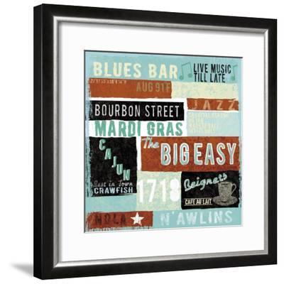 New Orleans-Tom Frazier-Framed Premium Giclee Print