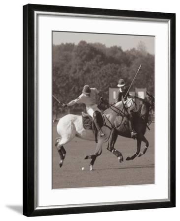 Polo In The Park I-Ben Wood-Framed Premium Giclee Print
