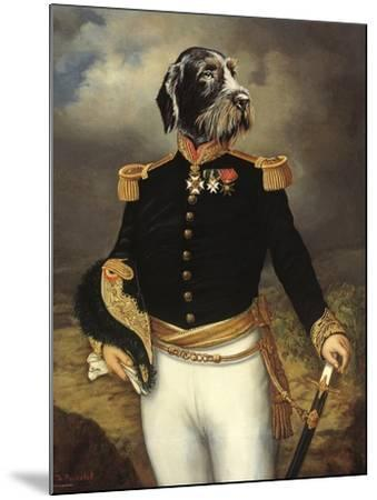Ceremonial Dress-Thierry Poncelet-Mounted Premium Giclee Print
