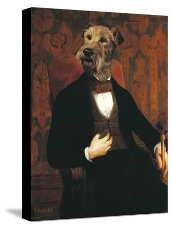 Monsieur-Thierry Poncelet-Stretched Canvas Print