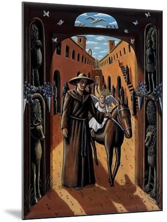 Citadel, 2015-PJ Crook-Mounted Giclee Print