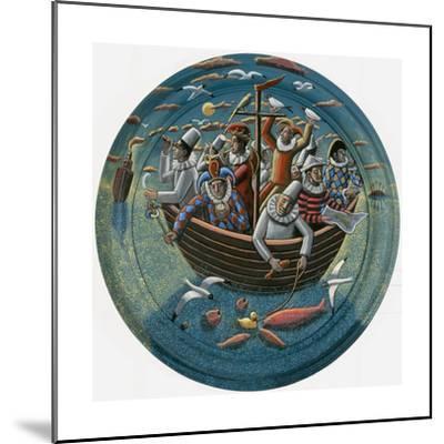 Ship of Fools, 2015-PJ Crook-Mounted Giclee Print