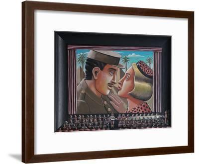 The Celluloid Embrace, 2015-PJ Crook-Framed Giclee Print