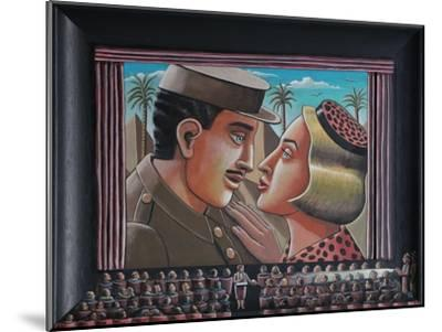 The Celluloid Embrace, 2015-PJ Crook-Mounted Giclee Print