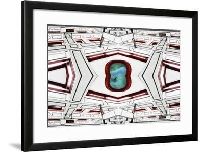 Ceiling Portal Sky Bird, 2014-Ant Smith-Framed Giclee Print