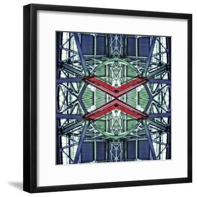 Red Cross 1, 2014-Ant Smith-Framed Giclee Print