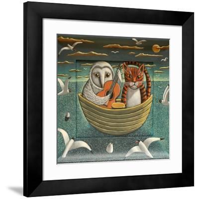 Elegant Fowl, 2015-PJ Crook-Framed Premium Giclee Print