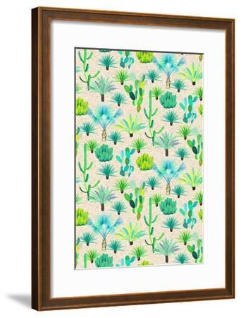 Les Jardins Majorelle - Cacti-Jacqueline Colley-Framed Giclee Print