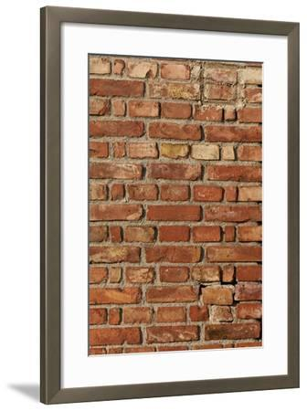 Hitting the Wall-K.B. White-Framed Photographic Print