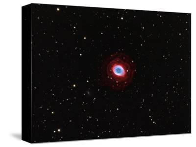 M57, Planetary Nebula in Lyra-Robert Gendler-Stretched Canvas Print