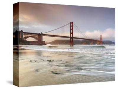 Golden Gate Bridge and Marin Headlands, San Francisco, California, USA-Patrick Smith-Stretched Canvas Print