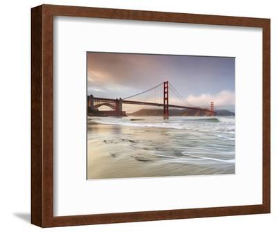 Golden Gate Bridge and Marin Headlands, San Francisco, California, USA-Patrick Smith-Framed Premium Photographic Print