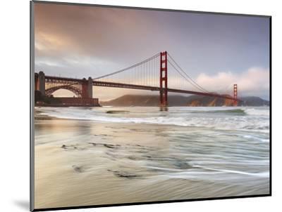 Golden Gate Bridge and Marin Headlands, San Francisco, California, USA-Patrick Smith-Mounted Premium Photographic Print