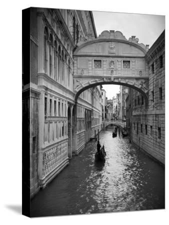 Bridge of Sighs, Doge's Palace, Venice, Italy-Jon Arnold-Stretched Canvas Print