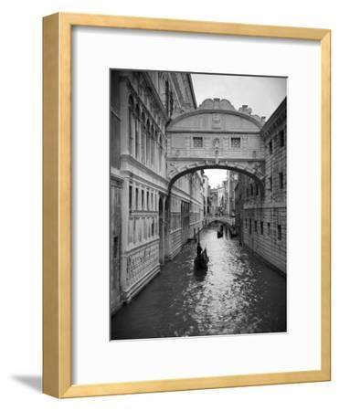 Bridge of Sighs, Doge's Palace, Venice, Italy-Jon Arnold-Framed Premium Photographic Print