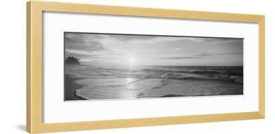 Sunset over the Sea--Framed Photographic Print
