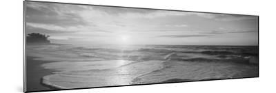 Sunset over the Sea--Mounted Photographic Print