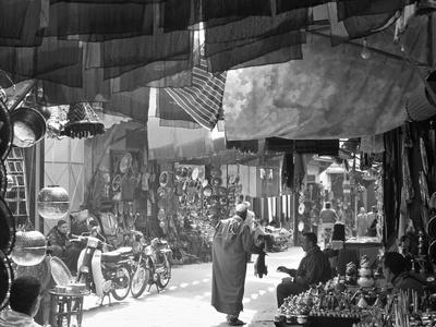 Marrakesh Market, Morocco-Peter Adams-Framed Photographic Print