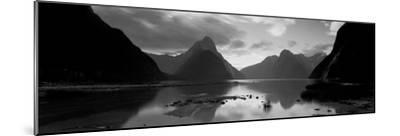 South Island, Milford Sound, New Zealand--Mounted Photographic Print