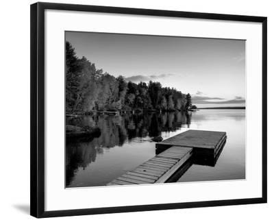 Maine, Baxter State Park, Lake Millinocket, USA-Alan Copson-Framed Photographic Print
